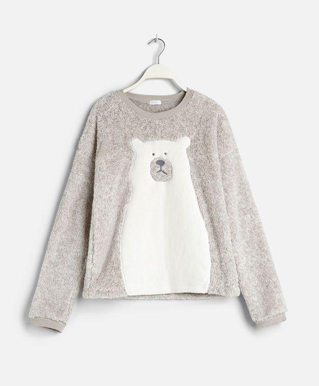 Polar bear sweatshirt - OYSHO | ~ gift idea ~ en 2019 | Pinterest ...