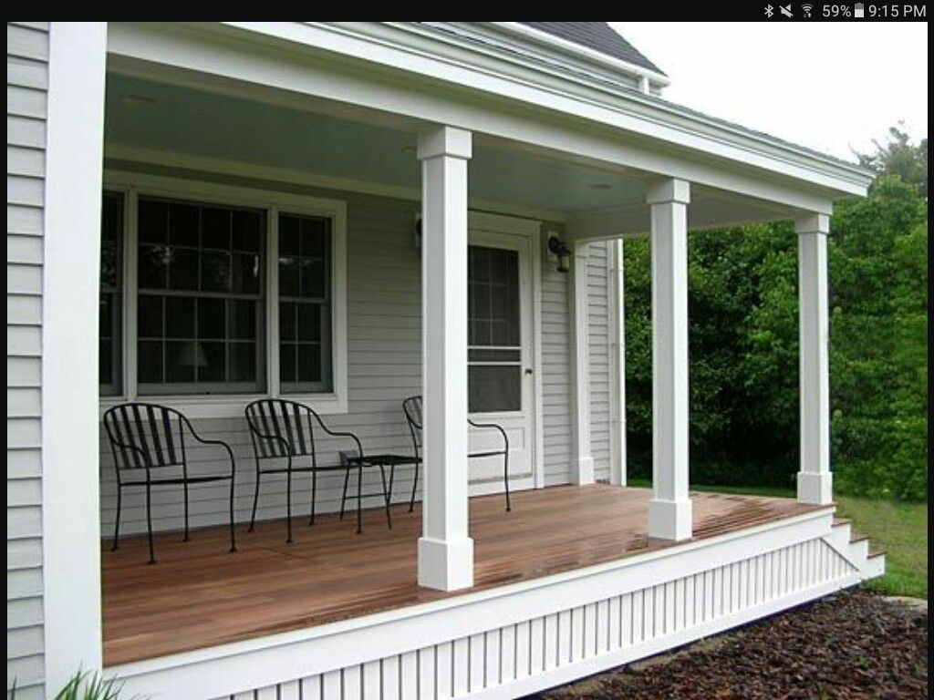 Porch post idea also country home pinterest posts rh