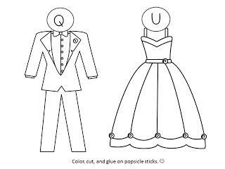 Kreative in Kinder: QU Wedding Freebie