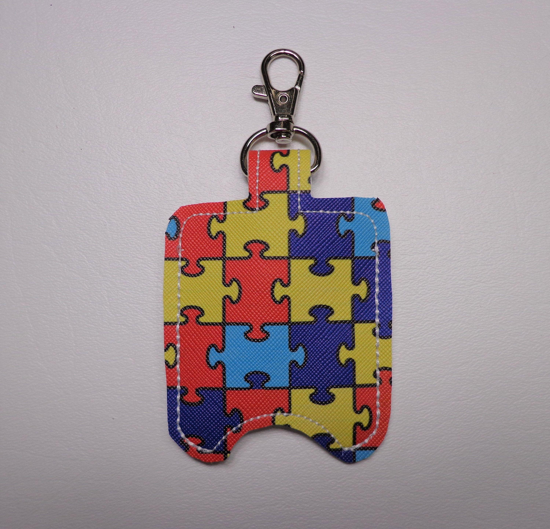 Puzzle Piece Hand Sanitizer Holder Hand Sanitizer Holder Hand