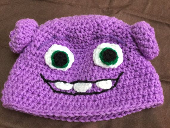 Pattern For Crocheted Alien Hat Inspired By Oh From The Movie Home