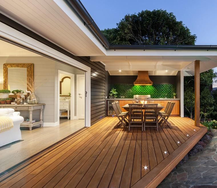 Terrazas cubiertas decoracion y dise o 48 ideas pisos for Diseno de patios y terrazas