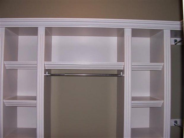 Wonderful Anyone Have Some Picu0027s Or Ideas About Built Ins For A Closet. Typical Reach  In. 7 Ft W X 2 Ft Deep. Any Ideas Will Help. Itu0027s For My Own House.