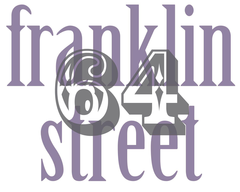 Housewarming Gift - Address Print Street House Number  8 x 10. $21.00, inc shipping via Etsy.