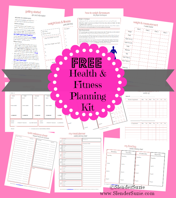 image regarding Fitness Planner Printable titled Cost-free Ketogenic Supper Strategies Health and fitness Conditioning planner