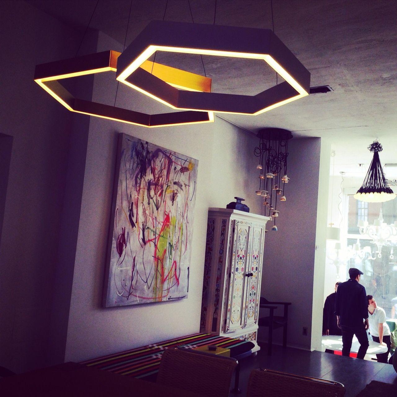 Studio Lighting Nz: Hex Pendant Light By Resident Studio, NZ