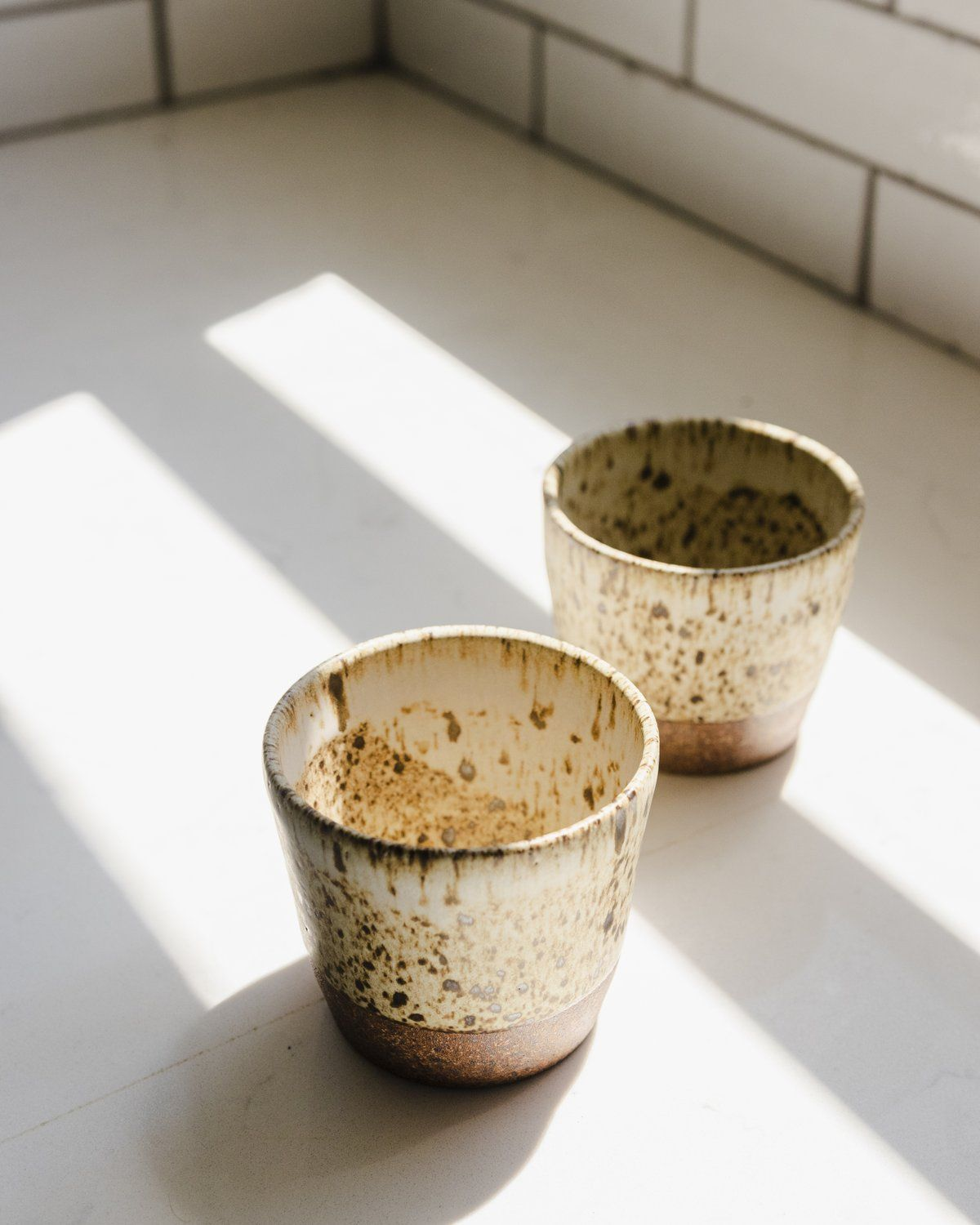 also great as a Handmade Ceramic Tea Bowl Noodle bowl and a Key Bowl Brown /& Blue Ramen Bowl Pottery Cereal Bowl