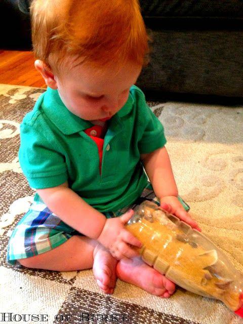 Casa de Burke: Botellas sensoriales