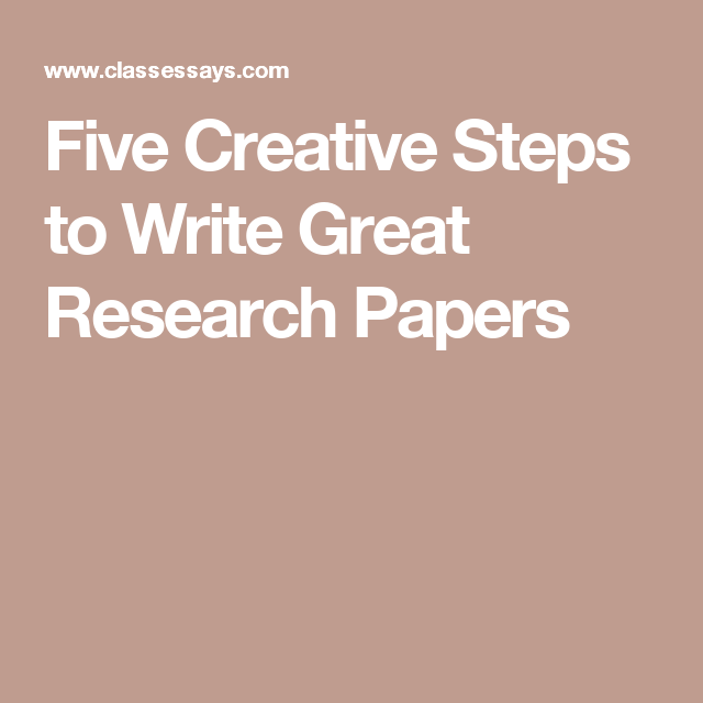 great research papers