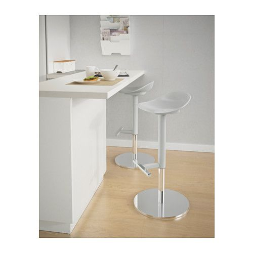 Kitchen Island Stools Ikea: JANINGE Bar Stool, Gray
