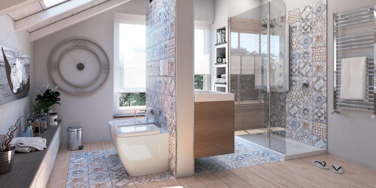 Come arredare il bagno in mansarda fai da te home pinterest bathroom house e home - Bagno in mansarda ...