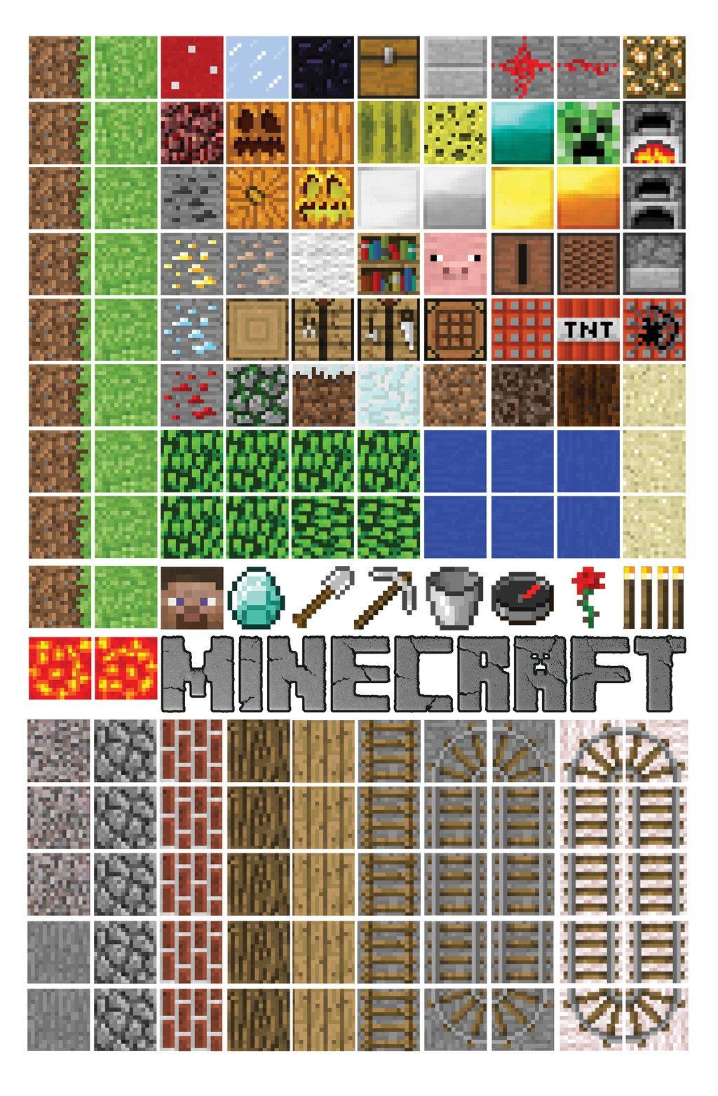 minecraft printable blocks # 26