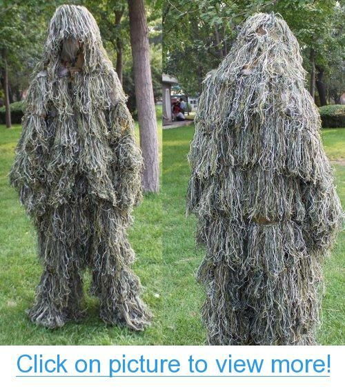 Sporting outdoor New Ghillie Suit Hunting Camo Woodland Camo camouflage suit