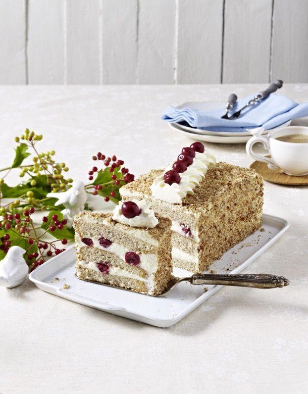 Buchweizen Kirsch Torte Rezept Torten Rezepte Lecker Kuchen Und Torten