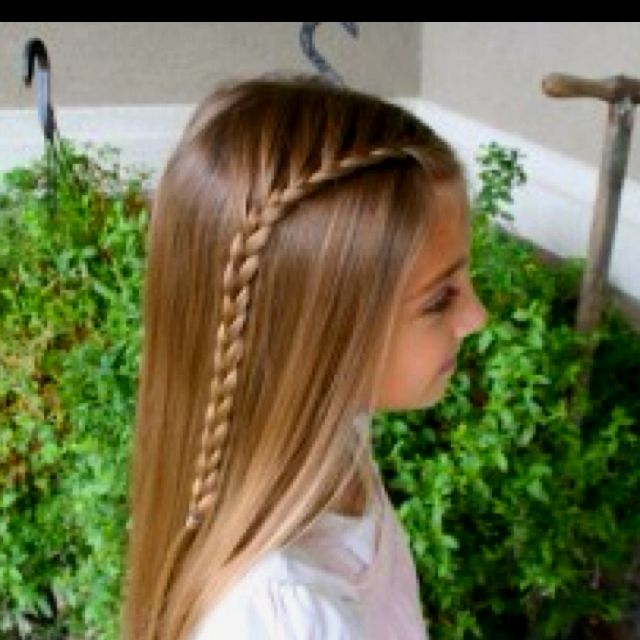 Little Girl Hairstyle Youtube: Cutegirlshairstyles.com Lace Braid. This Is THE BEST Site