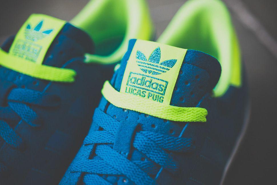 adidas skateboard lucas puig blue & elettricità scarpe