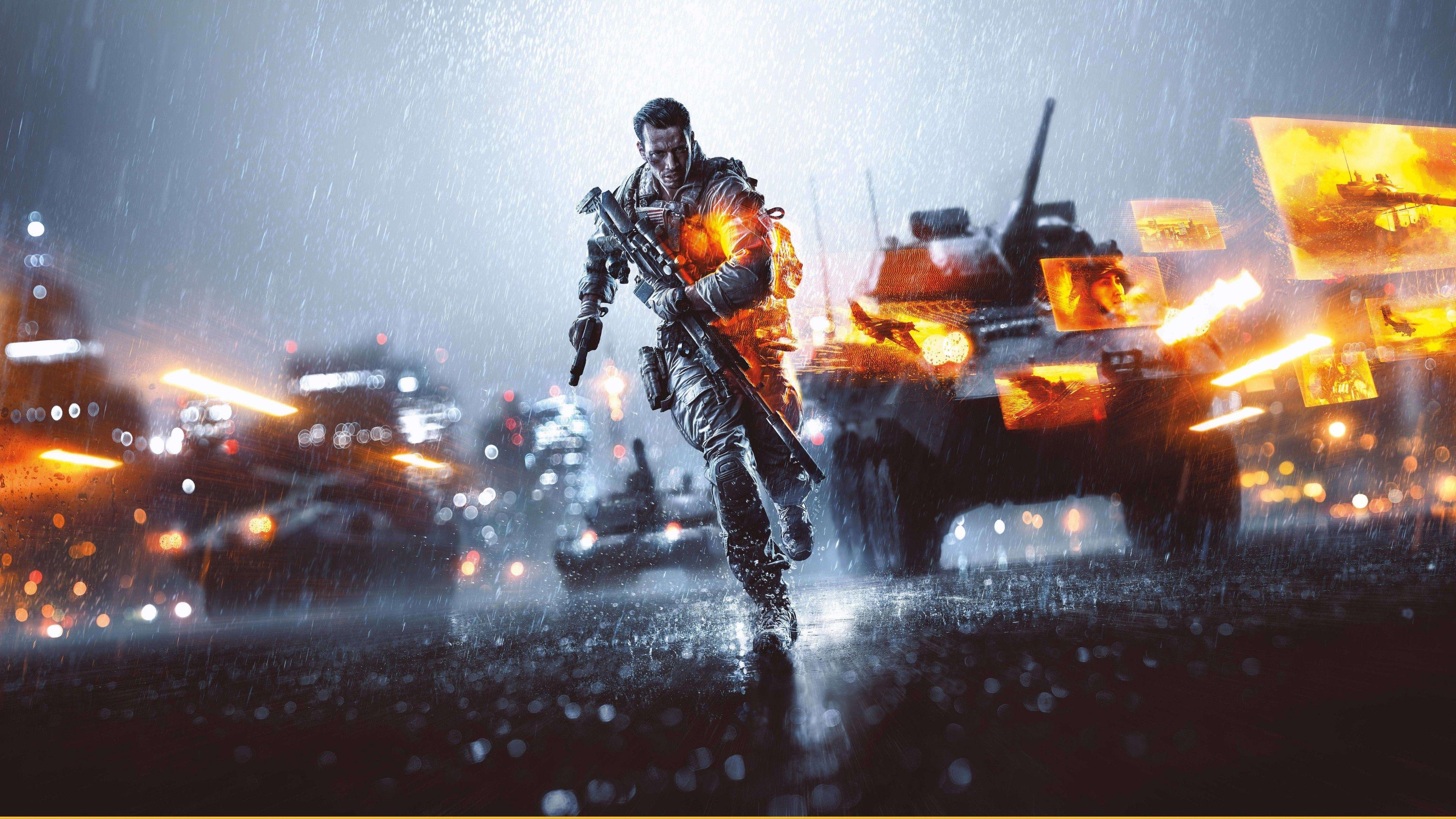 Best Ultra Hd Wallpapers 8k 3840x2160 Battlefield 4 Battlefield Digital Wallpaper