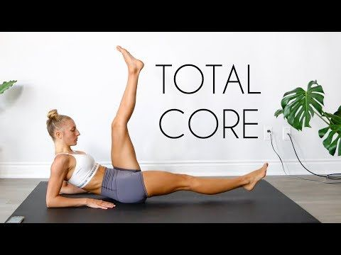 20 MIN TOTAL CORE WORKOUT (Equipment Free Ab Workout) - FIT LIFE VIDEOS
