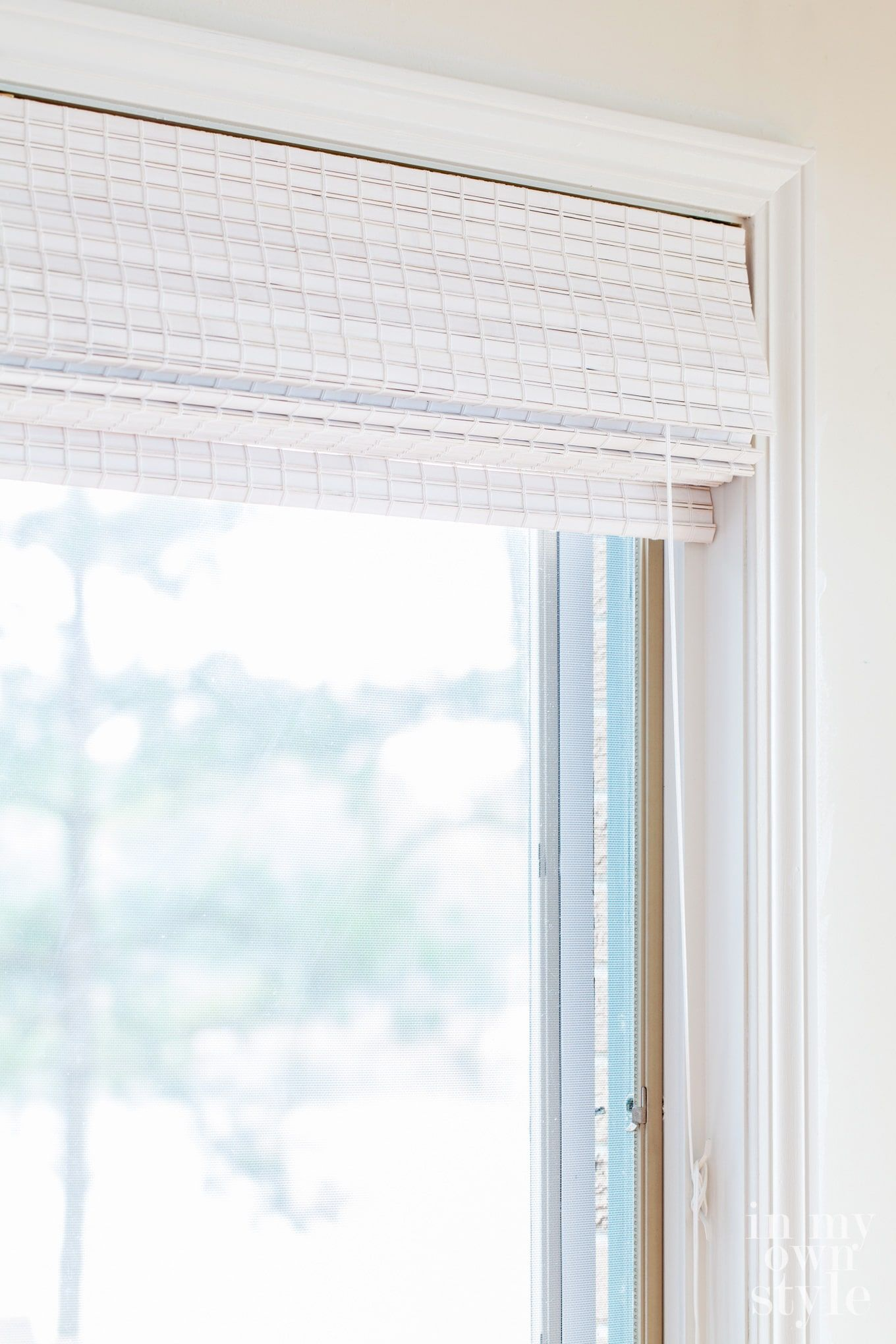 Affordable Window Shade Options For The Kitchen Bamboo Window Shades Window Shades Affordable Windows
