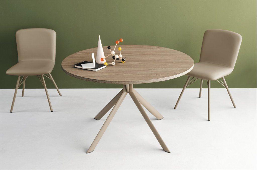 Viadurini Living Modernt Glass Matbord av Italiensk Design