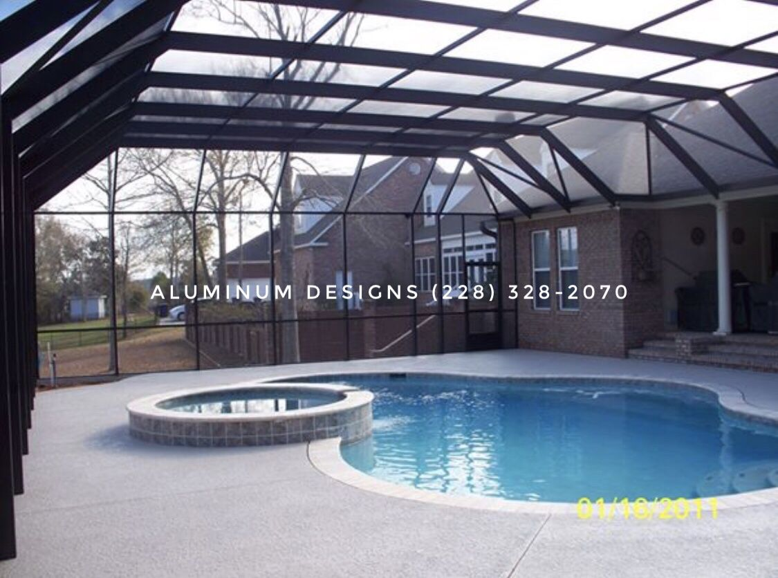 Idea By Aluminum Designs On Pool Enclosures Patio Builders