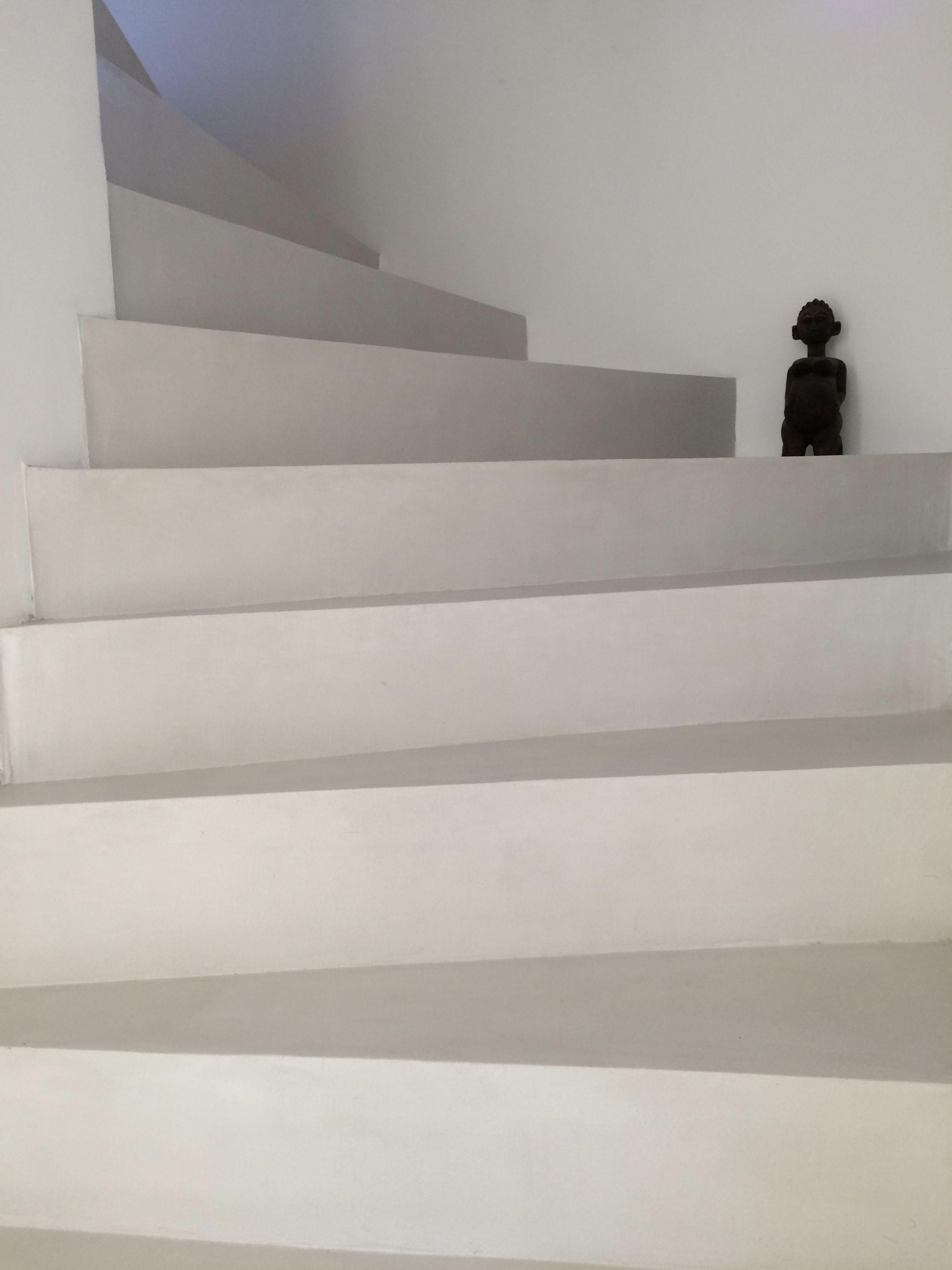 escalier en b ton cir couleur gris cendr ma 39 s b ton cir. Black Bedroom Furniture Sets. Home Design Ideas