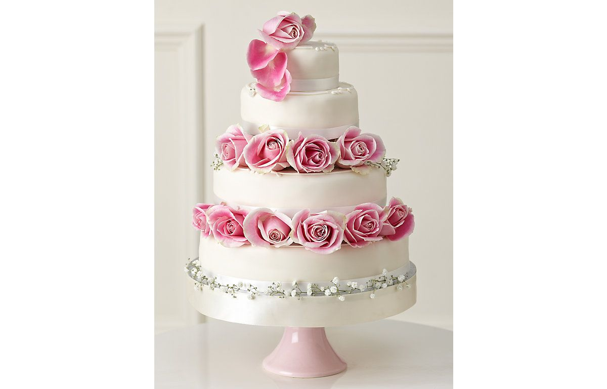 Traditional Wedding Cake - Create Your Own - Fruit, Sponge or ...