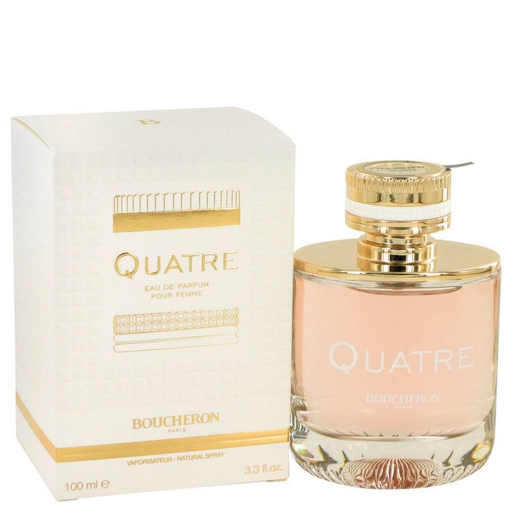 Boucheron Quatre 100ml 3.3oz Eau De Parfum Spray EDP Perfume Fragrance for  Women 8c622c2c4f7f4