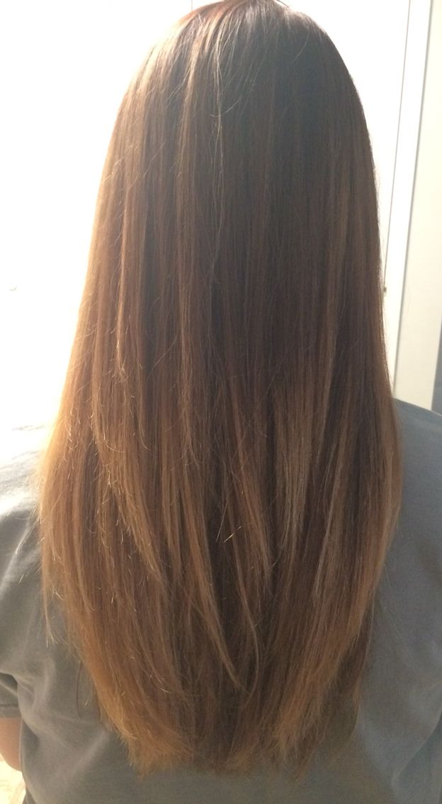 Ombre And Long Layers Losteve Korean Long Hair Korean Haircut Long Hair