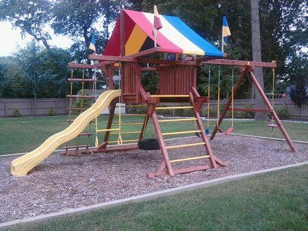 Redoing That Swingset For The Home Pinterest Rainbow Play