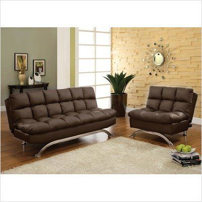 Aristo Bi Cast Leather Convertible Sofa Color Dark Espresso In The UAE See Furniture SetsLiving Room