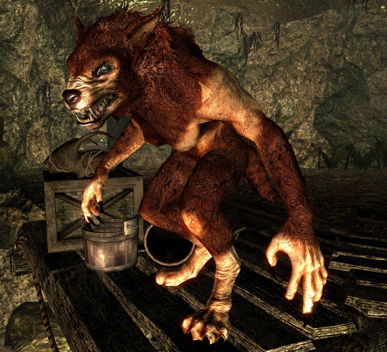 Скачать мод на скайрим werewolf