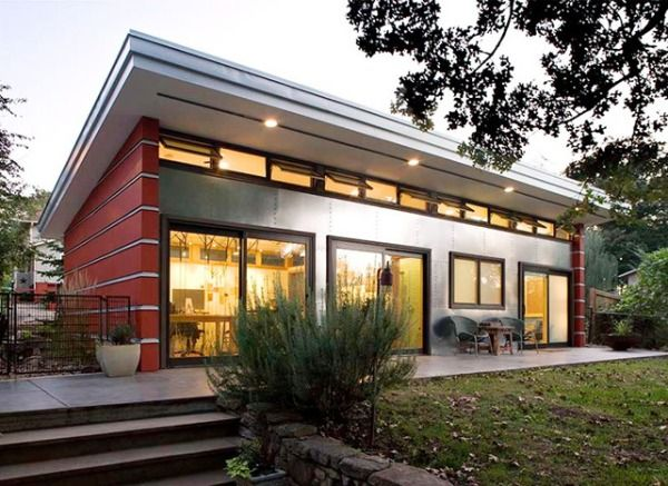artist studio guest house by virant architecture
