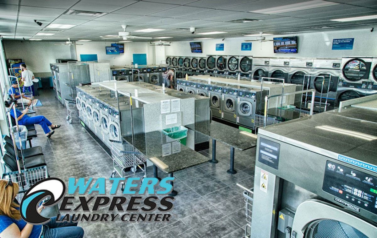 Pin On Waters Express Laundry Center