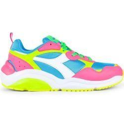 Diadora Heritage Fluo Pack Whizz Run Unisex Sneaker pink DiadoraDiadora#diadora #diadoradiadora #fluo #heritage #pack #pink #run #sneaker #unisex #whizz