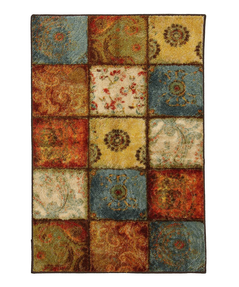 Take A Look At This Artifact Panel Rug On Zulily Today