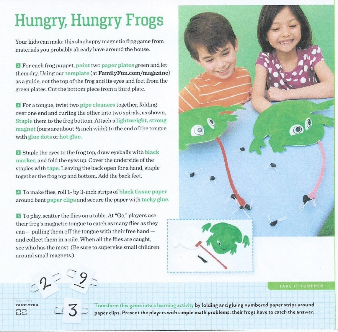 Hungry Hungry Frogs Game For Kids
