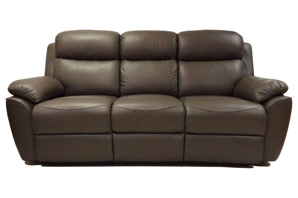 Best Rialto 3 Seater Manual Recliner Sofa Manual Recliner 400 x 300