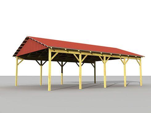 Beam bracing on pole barn stray arrow pinterest for Wood pole barn plans free