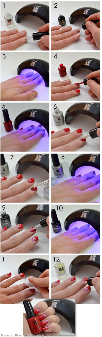 By Bailey Brown. This was created using Red Carpet Manicures Pro Kit ...
