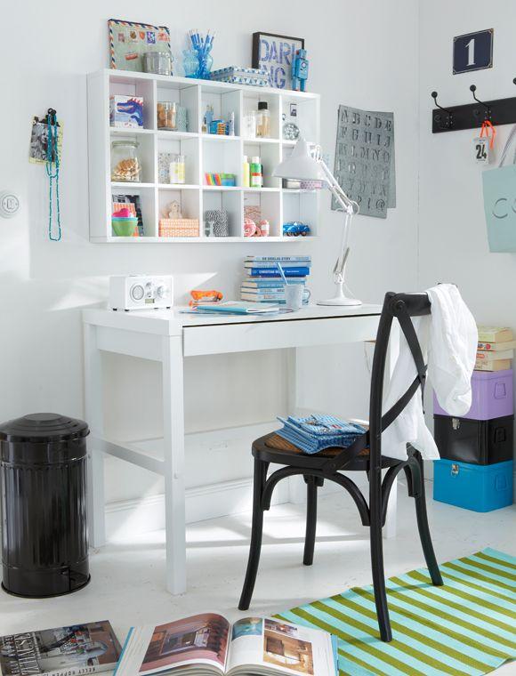 Schreibtisch Mit Aufsatz Weiaÿ Pack1 Mobel