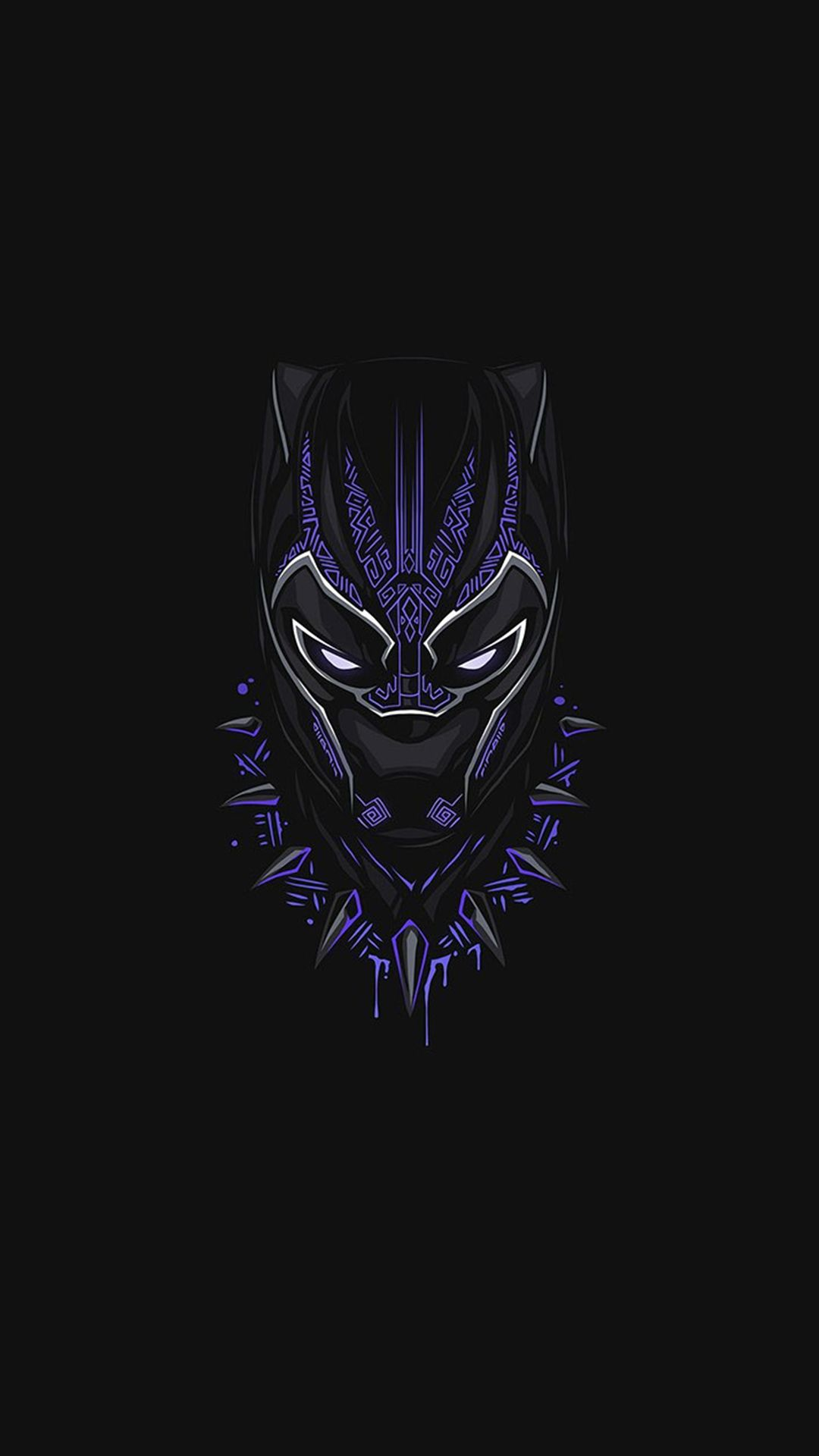 Black Panther Purple Minimal Iphone Wallpaper Averteam Avermusic Instagram Avermusic Youtube Ave Black Panther Marvel Superhero Wallpaper Marvel Wallpaper