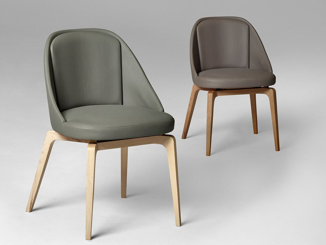 Alivar Sedie ~ Leather chair oyster by alivar design andrea lucatello furniture