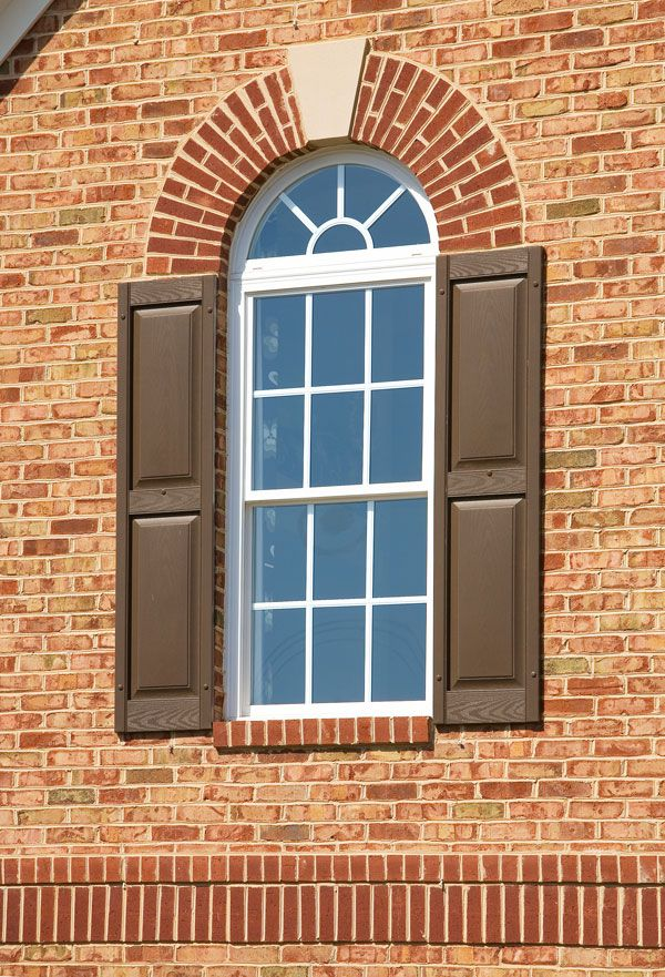 Front Elevation Arch : Quot jack arch and keystones w brick elevations