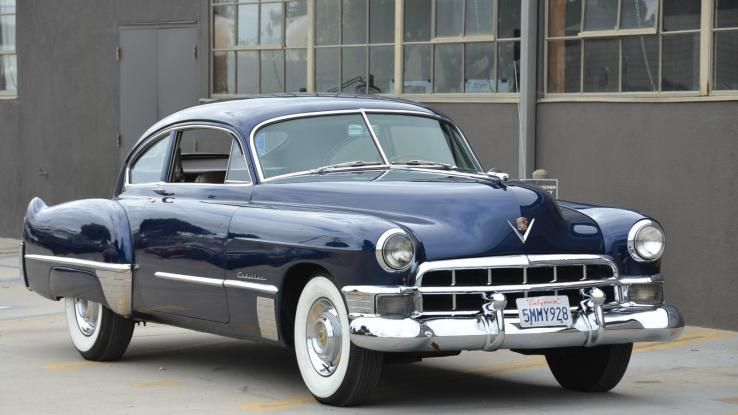 1949 cadillac series 61 sedanette fastback front 3 4 for 1949 cadillac fastback series 61 2 door