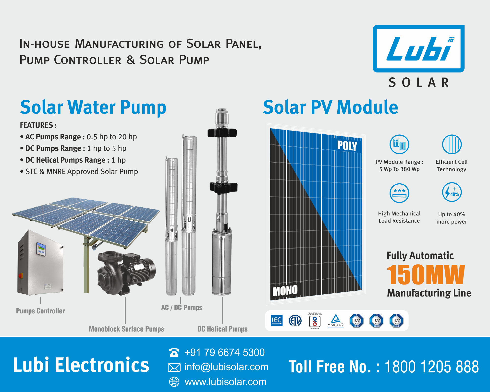 Solar Panel And Pump Solar Water Pump Solar Panels Solar Pv