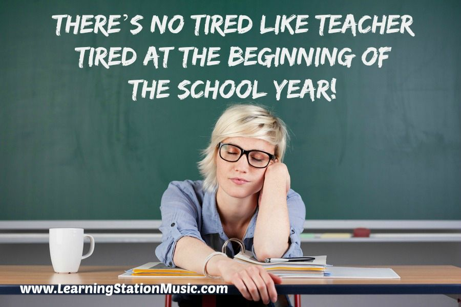 can you relate there s no tired like teacher tired at the