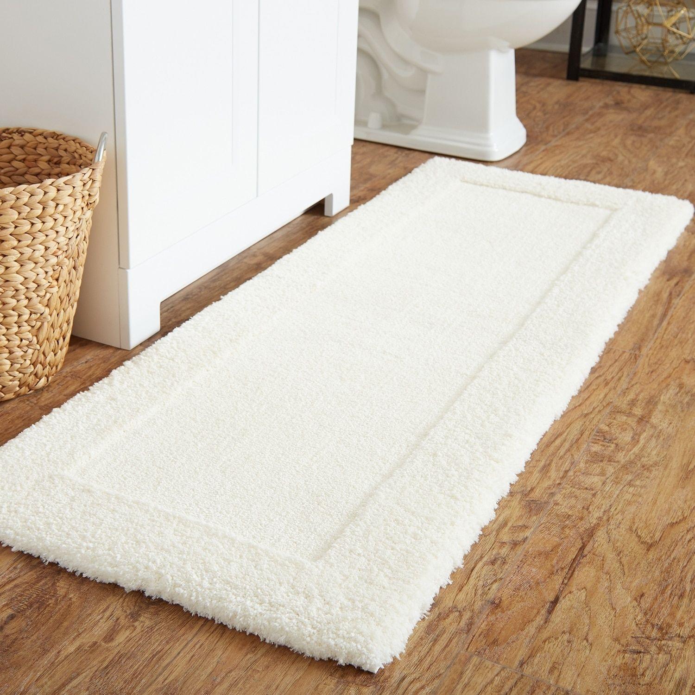 Mohawk Home Dynasty Bath Rug Parchement Beige Off White 24 X