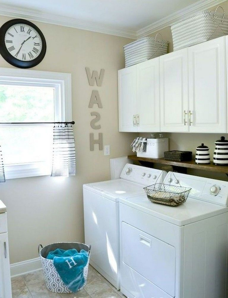 50+ Best Small Laundry Room Decorating Ideas To Inspire You images