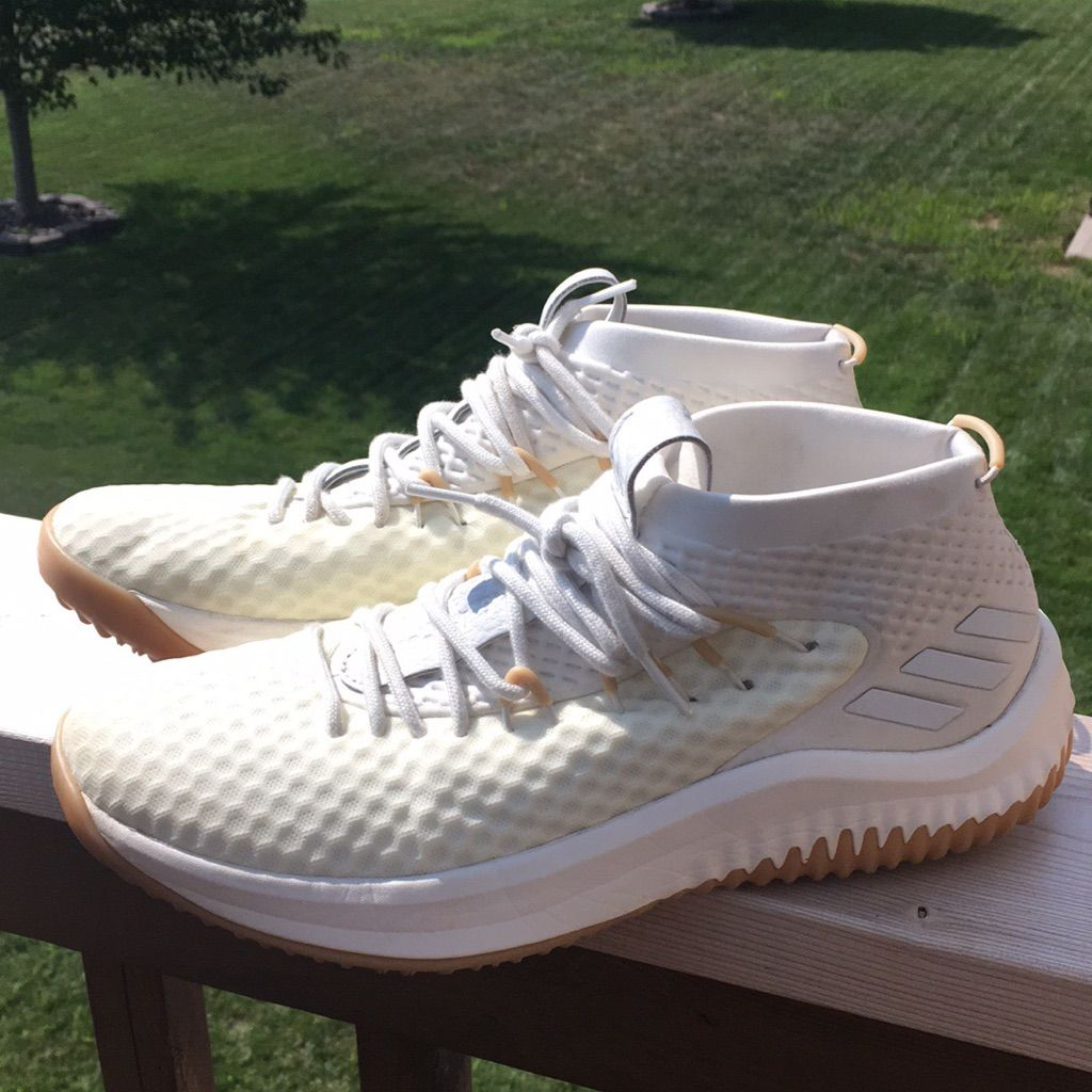 adidas Shoes Dame 4 Shoes Color Cream/White Size